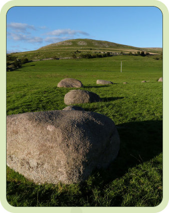 Gamelands Stone Circle is on the Coast to Coast walk