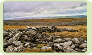 Castle Folds is a prehistoric fort set amidst the limestone pavement